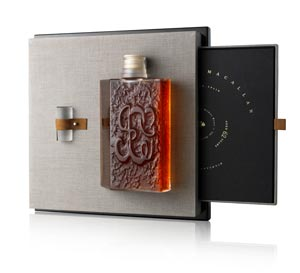 Carafe Lalique The Macallan Maison Spirituelle
