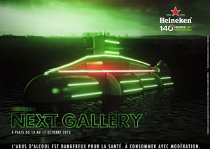 L'expo Next Gallery d'Heineken