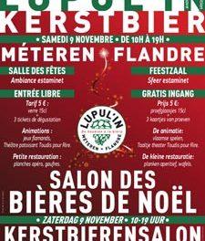 Les bières de Noël avec Lupul'in Méteren