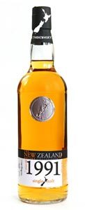 The New Zealand Whisky 1991Cask Strength 63,5%