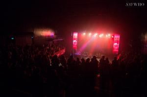 Pression Live sur la scène de L'Olympia ©Say Who