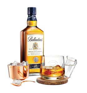 Coffret Ballantine's by Front