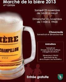 4e Marché de la bière de Champillon