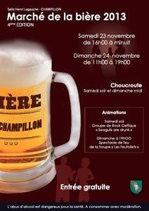 Marché de la Biere de Champillon 2013