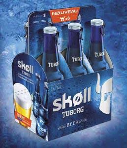 La Skoll s'impose sur le marché et arrive en pack de 6