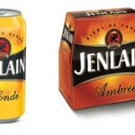 Les bières Jenlain Blonde et Ambrée relookées