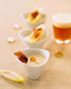 Crème d'endive à la bière ©Brasseurs de France