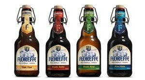 Nouvelle bouteille pour la bière Floreffe