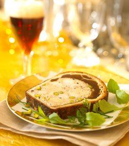 Pâté en croute de Foie Gras ©Brasseurs de France