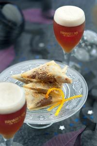 Samoussas choco-orange ©Patricia Kettenhofen/Brasseurs de France