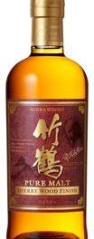 Taketsuru Pure Malt Sherry Wood Finish disponible !