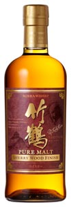 Taketsuru Pure Malt Sherry Wood Finish disponible !