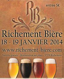 Ne manquez pas l'événement bière de Richemont !