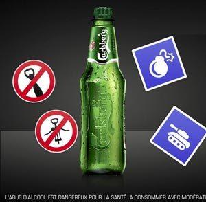 La nouvelle bouteille Carlsberg en PET