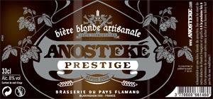 Etiquette de l'Anosteke Prestige