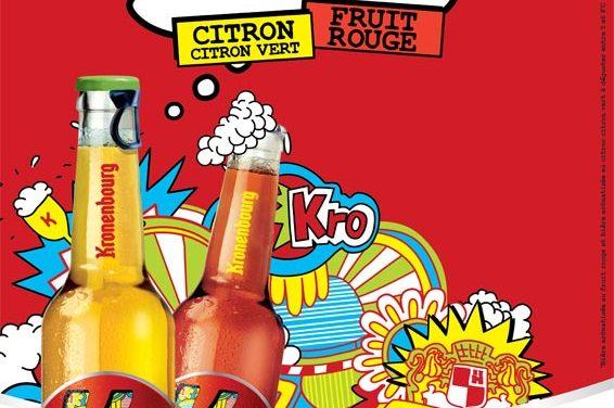 K by Kronenbourg, deux bières aromatisées aux fruits !