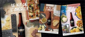 Licorne Black et son Kit Apéritif