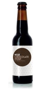 La bière Milk Chocolate Stout d'Akim Tihanin et Laurent Couchaux