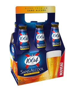 Pack 6x25cl 1664 Sans Alcool