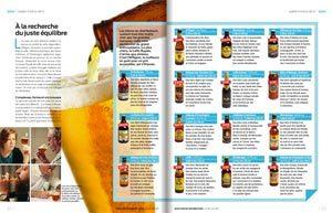 Les bières d'abbaye testées par 60 Millions de Consommateurs