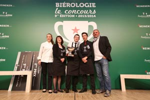 Charles Leteissier remporte le 9e Concours national de biérologie