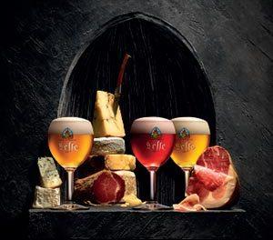 Leffe, jambons et fromages pour l'apéritif !