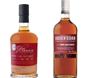French touch pour deux Single Malts Glen Garioch et Auchentoshan