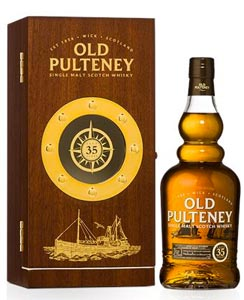 Old Pulteney annonce la disponibilité d'un 35 Years Old
