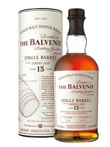 The Balvenie Single Barrel Sherry Cask 15 ans