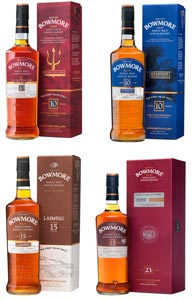 Belle collection de Bowmore