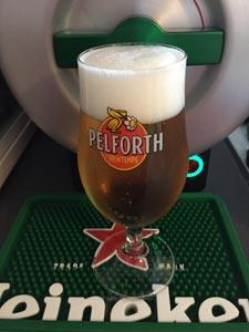 Une beau demi de bière pression avec The Sub