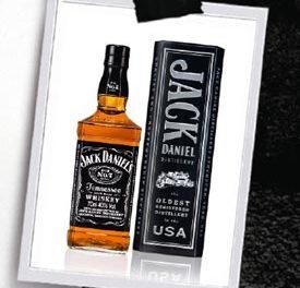 La coffret de Noël de Jack Daniel's Old n°7