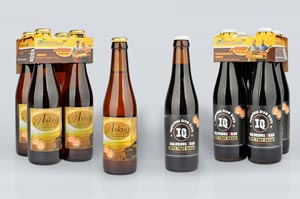 Les bières Askoy et Inglorious Quad