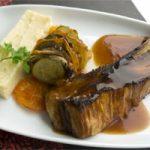 Travers de porc marinés à la bière ambrée Ninkasi