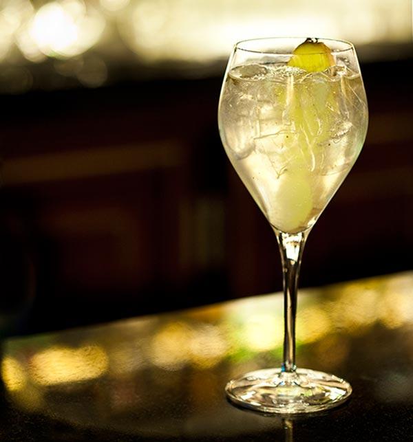 Cocktail Craigellachie 13 ans et poivre Kamput ©Anne Demay