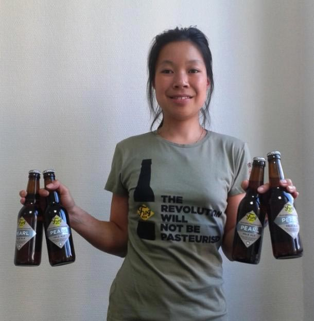 Eugénie Mai-Thé, Brewery Manager de FrogBeer