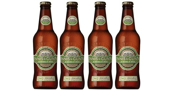 La bière Fifty Shades of Green de Innis & Gunn