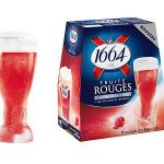 Brasseries Kronenbourg lance 1664 Fruits Rouges