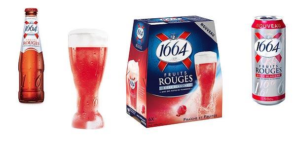 La nouvelle bière 1664 Fruits Rouges