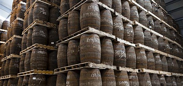 Fûts de scotch whisky ©SWA