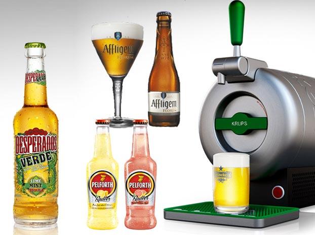 Les succès Heineken France de 2014