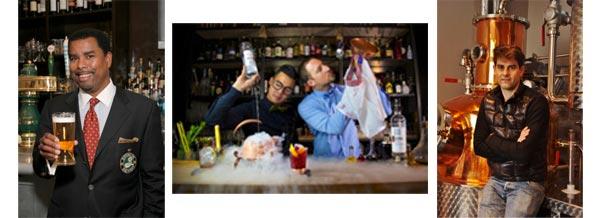 La bière, les cocktails et le whisky à Omnivore