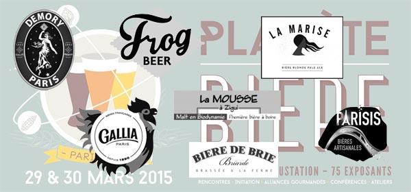 Les brasseries d'ile de France à Planète Bière