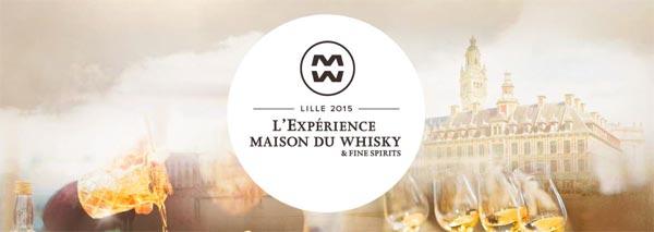 Expérience Maison du Whisky Lille