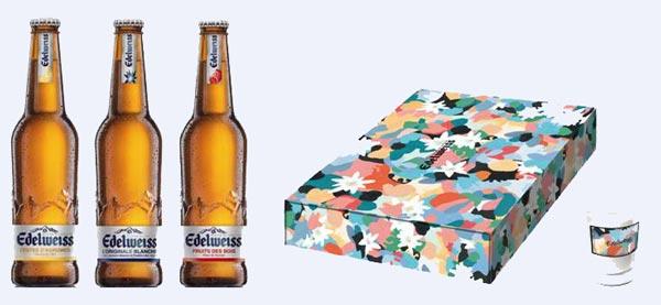 Nouvelle gamme et box Edelweiss par Inès Longevial