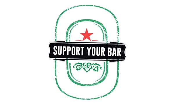 Support Your Bar avec Heineken