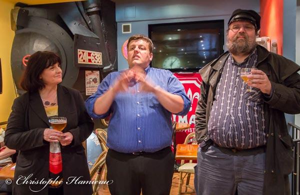 Elisabeth Pierre, Philippe Wouters et Laurent Mousson