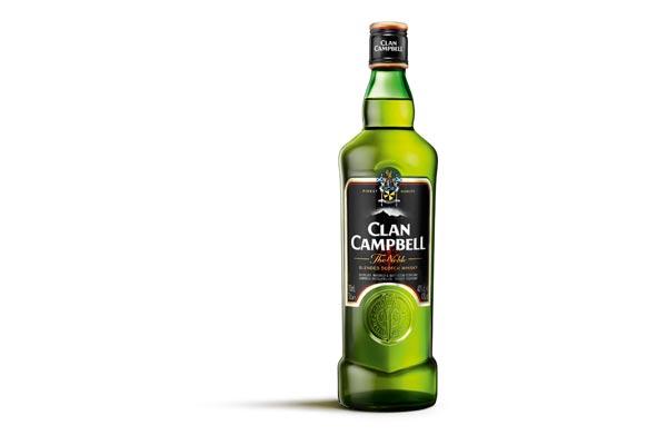 La nouvelle bouteille de Clan Campbell