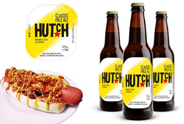 Hutch Classic Pale Ale pour accompagner les hot-dogs de la maison