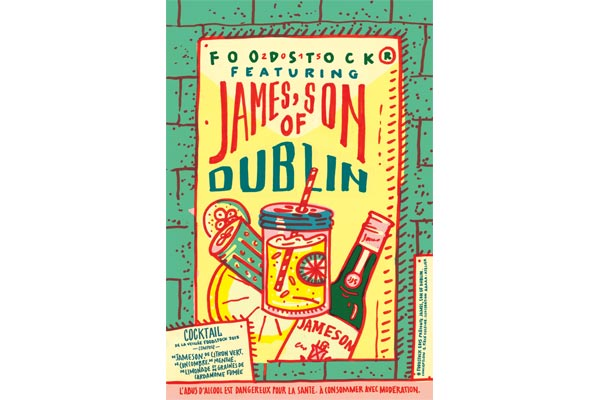 Le James son of Dublin de la Veillée Foodstock 2015